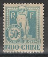 Indochine - YT Taxe 13 * - Portomarken