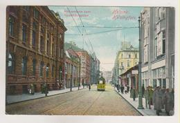 Helsinki.Alexandersgatan,tram. - Finlande