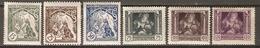 TCHECOSLOVAQUIE     -    1919 .   Y&T N° 41 à 41 E *.  Série Complète. - Czechoslovakia