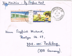 20662. Carta Via Maritime . By Surface Mail TANANARIVE (Madagascar) 1967 - Madagascar (1960-...)
