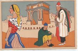 Illustrateur  Henri Pertus  Vieux Marseille N° 5  Porte D'aix - Marsiglia