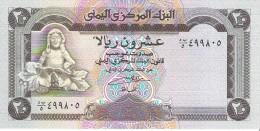 Yemen Arab Republic - Pick 26 - 20 Rials 1990 - Unc - Yemen