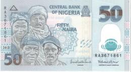Nigeria - Pick 40 - 50 Naira 2013 - Unc - Nigeria