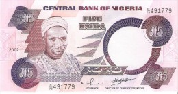 Nigeria - Pick 24g - 5 Naira 2002 - Unc - Nigeria