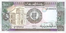 Sudan - Pick 44 - 100 Pounds 1989 - Unc - Sudan