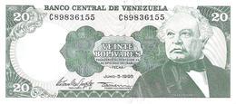 Venezuela  - Pick 63e - 20 Bolivares 1995 - Unc - Venezuela