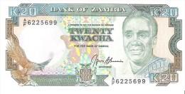 Zambia - Pick 32b - 20 Kwacha 1991 - Unc - Zambia