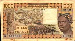 NIGER  1000 FRANCS Du 1984  Pick 607d - Niger