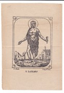Santini - S. LAZZARO - Mis.13,5x19,5 (n°25) - Images Religieuses