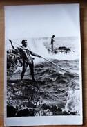 Pêcheur De TAHITI - Carte Datée 18/10/56 - Polynésie Française