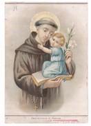 Santini - Sant'Antonio Di Padova - Stab. Bertarelli Milano (n°29) - Images Religieuses