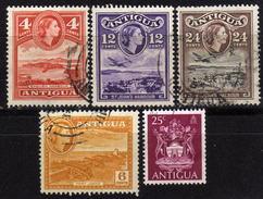 ANTIGUA - Lot 5 Verschiedene Used - Antigua & Barbuda (...-1981)