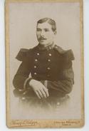 PHOTOS - MILITARIA - Portrait Militaire (N° 54 Sur Uniforme ) - Photo FAVEY & KNAPP à PARIS - Guerre, Militaire