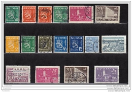 Finland 1930-1949, Mixed Used - Finland
