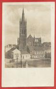 Belgique - LICHTERVELDE - Carte Photo Allemande - Eglise - Guerre 14/18 - Lichtervelde