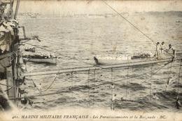 MARINE MILITAIRE FRANCAISE LES PERMISSIONNAIRES ET LA BAIGNADE - Guerra