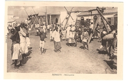 CPA Djibouti Balançoires Afrique - Gibuti