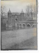 Groot-Bijgaarden Grand-Brigand 15/3/1908 : Château De Mr. Pelgrims (originele Foto 12x9cm) - Dilbeek