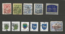 Lot De Timbres Divers - Lettonie