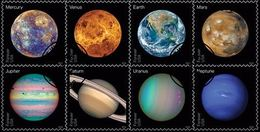 VERINIGTE STAATEN ETATS UNIS USA 2016 VIEWS OF OUR PLANETS FOREVER SET OF 10V.SC 5069-76 - Used Stamps