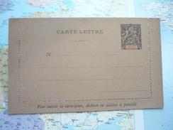 Carte Lettre 25 C Golfe De Bénin