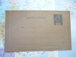Carte Lettre 15 C Golfe De Bénin