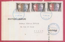 Enveloppe TIMBRES 1° Jours U.N.E.S.C.O. 21 Janvier 1961 - Storia Postale