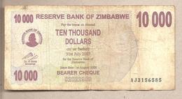 Zimbabwe - Banconota Circolata Da 10.000 Dollari - 2006 - Zimbabwe