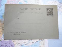 Carte Postale Benin 10 C Avec Carte Réponse 10 C