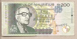 Mauritius - Banconota Circolata Da 200 Rupie - 2010 - Mauritius