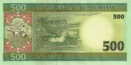 MAURITANIA P. 12a 500 O 2004 UNC - Mauritania