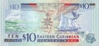 EAST CARIBBEAN STATES P. 48 10 D 2008 UNC - Caraïbes Orientales