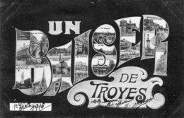 TROYES - Un Baiser De Troyes - Multivues - Troyes