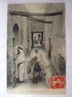 19112016 -  ALGERIE  - ENVIRONS DE GHARDAIA -  UNE RUE   - - Ghardaia