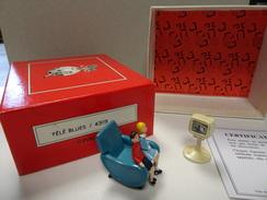 PIXI 4309 TELE BLUES En Bon état  Boite Et Certificat D'origine - Figurines
