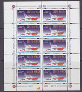 South Africa 1998 National Sea Rescue Institute 10v In Sheetlet ** Mnh (F5988A) - Zuid-Afrika (1961-...)