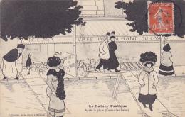 Cpa-93-le Raincy--apres La Pluie...-casino Les Bains-illustrateur Marcel Collot - Le Raincy