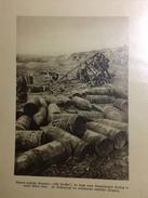 Photos Allemandes Recto Verso - A3 Canon Tirant Sur Paris Depuis Laon Mise En Place - Gros Obus En Vrac - 1914-18