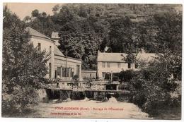 Pont Audemer : Barrage De L'Electricité (Cliché Douthwaite Et Fils) - Pont Audemer