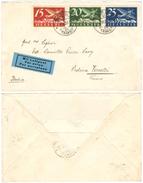 83) SVIZZERA LETTERA VIA AEREA BERN - VERCELLI (ITALIA) 2.7.1933 - Posta Aerea