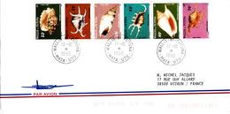 COVER WALLIS ET  FUTUNA - 1984 LA SERIE 312/317
