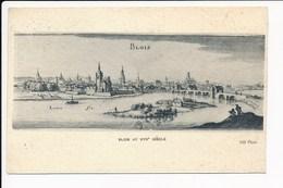 Carte  De Blois Au XVII E Siècle ( Recto Verso ) - Blois