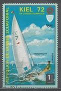 Equatorial Guinea 1972, Scott #72104 Olympic Games, Munich Regatta In Kiel & Finndinghy (U) - Guinée Equatoriale
