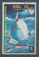 Equatorial Guinea 1972. Scott #72105 (U) Olympic Games, Munich Regatta In Kiel & Dragon - Guinée Equatoriale