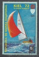 Equatorial Guinea 1972. Scott #72107 (U) Olympic Games, Munich Regatta In Kiel & Flying Dutchman - Guinée Equatoriale
