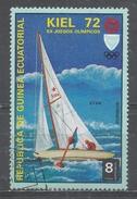 Equatorial Guinea 1972. Scott #72108 (U) Olympic Games, Munich Regatta In Kiel & Star - Guinée Equatoriale