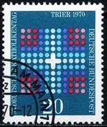 BRD - Mi 648 - OO Gestempelt (C) - 20Pf            Katholikentag - Gebruikt