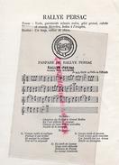 CHASSE A COURRE -LA VENERIE FRANCAISE- TROMPE DE CHASSE- RALLYEPERSAC -VICOMTE EMILE DE LA BESGE- THEIL DE FORGES - Historische Documenten