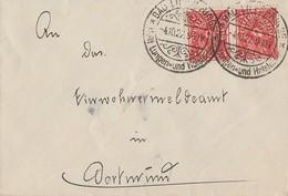 DR Brief Mef Minr.2x 225 SST Bad Lippspringe 4.10.22 - Lettres & Documents