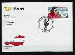 ÖSTERREICH - FDC Mi-Nr. 3021 Gerlinde Kaltenbrunner - FDC
